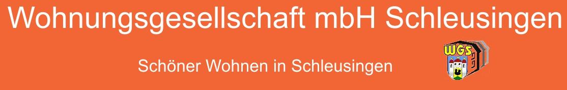 Wohnungsgesellschaft mbH Schleusingen